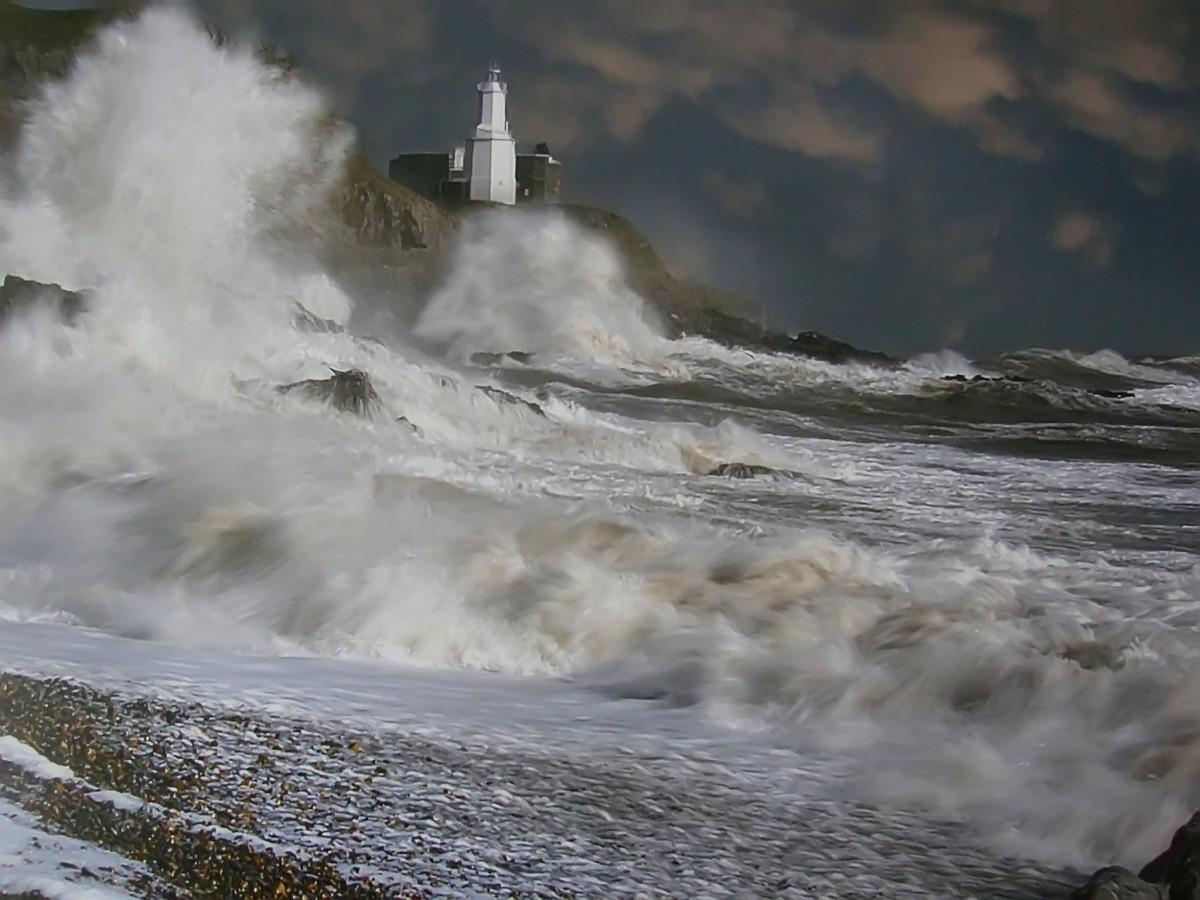 Zdjęcia: Półwyse Mumbles., Swansea., Mumbles - Latarnia Morska., WALIA