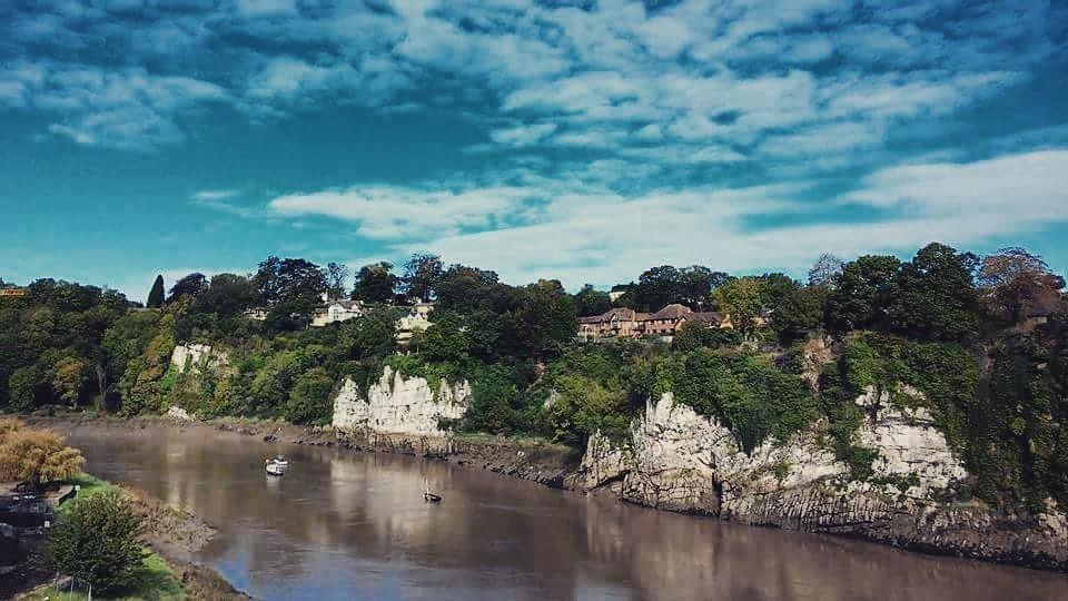 Zdjęcia: Chepstow, Wye valley, Rzeka Wye, WALIA