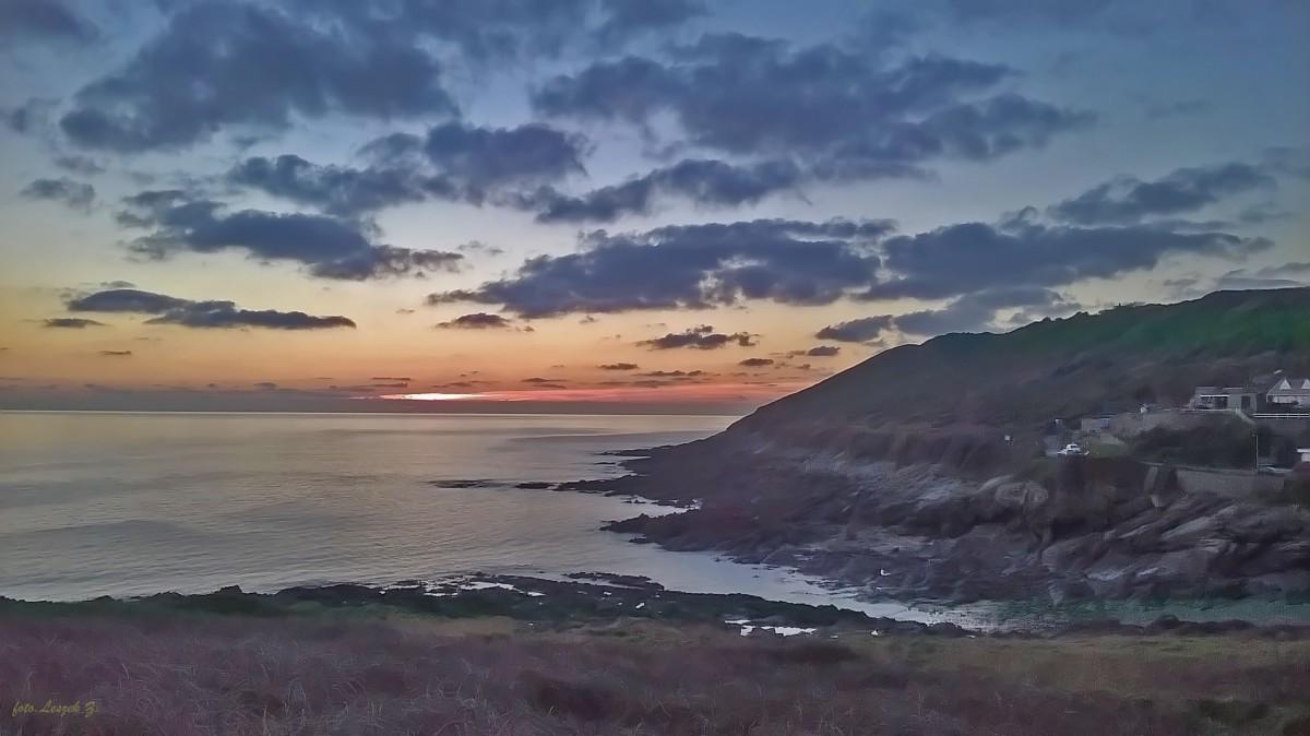 Zdjęcia: Swansea., Walia., Mumbles o zachodzie słońca., WALIA