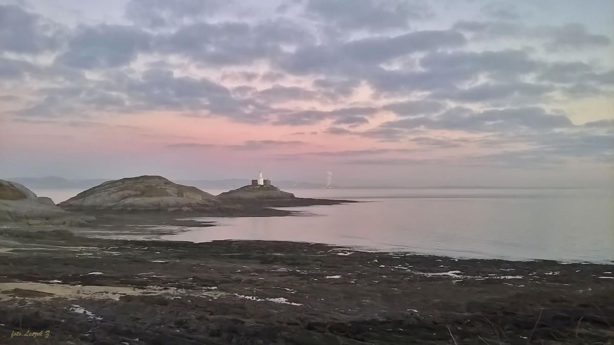 Zdjęcia: Mumbles Bay., Swansea., Mumbles - Latarnia Morska., WALIA