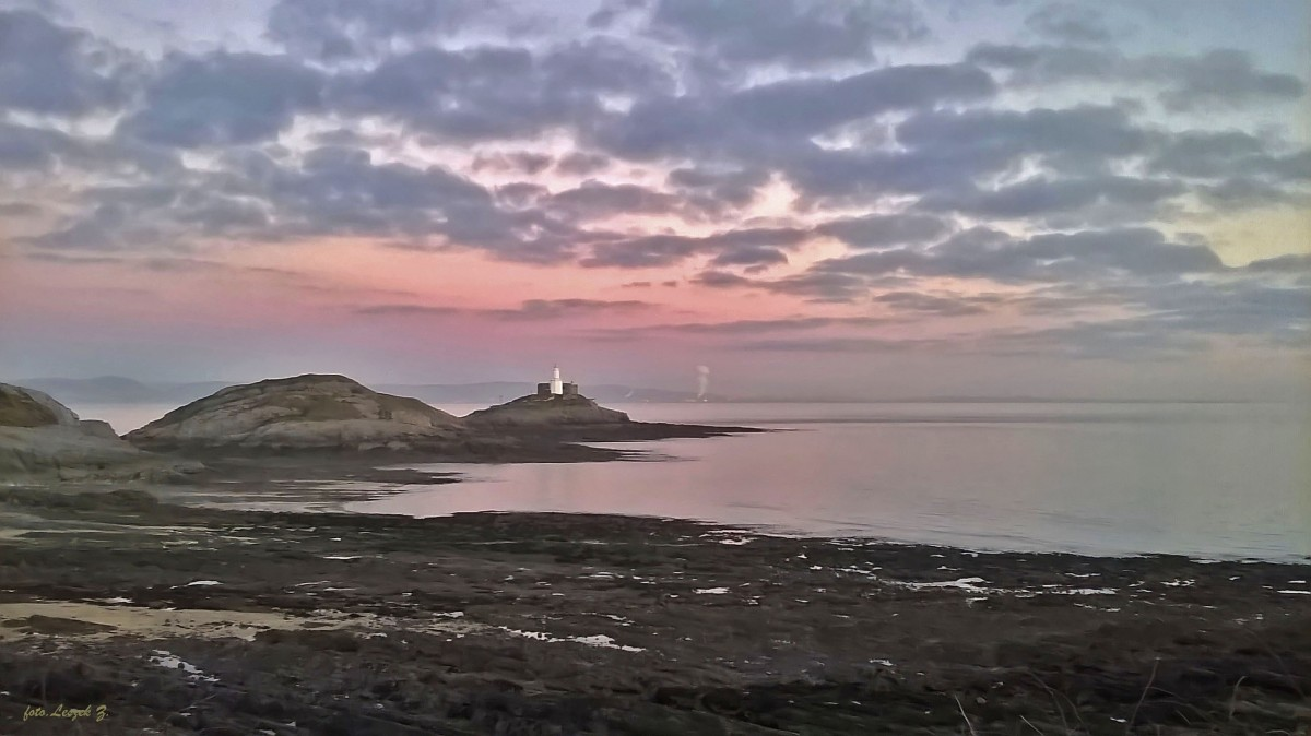 Zdjęcia: Mumbles Bay., Swanseaa., Mumbles - Latarnia Morska., WALIA
