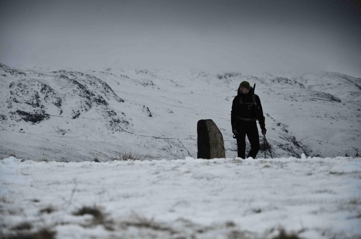 Zdjęcia: Pyg Track, Snowdonia, W drodze na Snowdon, WALIA