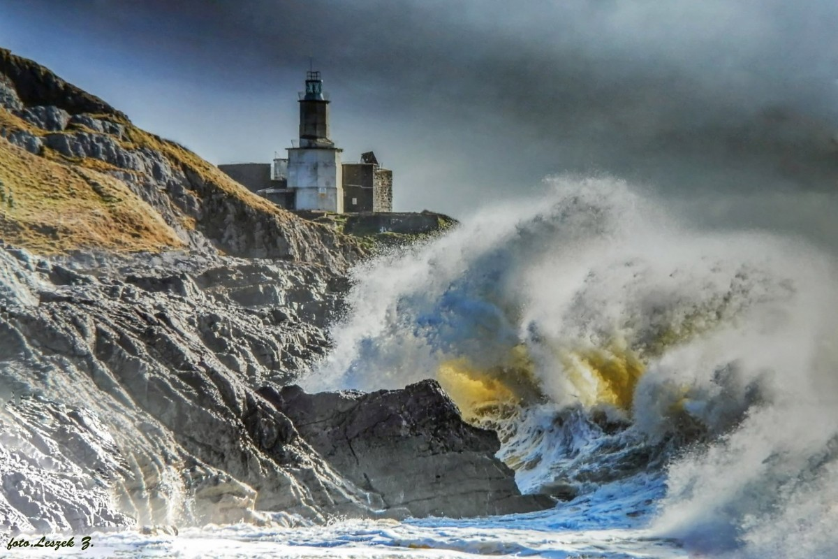 Zdjęcia: Mumbles., Swansea., Latarnia morska Mumbles., WALIA