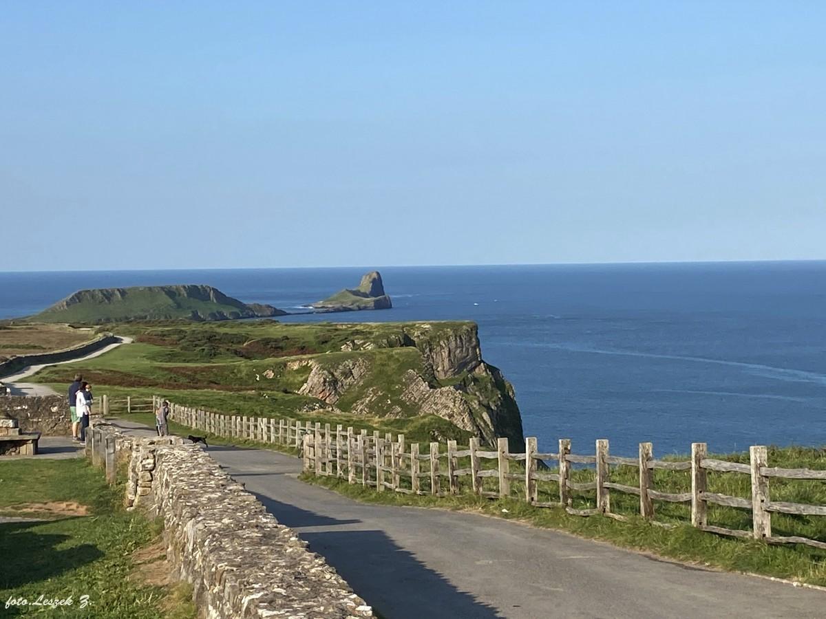 Zdjęcia: Półwysep Gower., Swansea., Rhossili - najpiękniejsza plaża Walii., WALIA