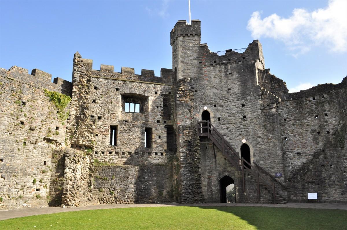 Zdjęcia: Cardiff , Stolica, Cardiff, zamek, WALIA