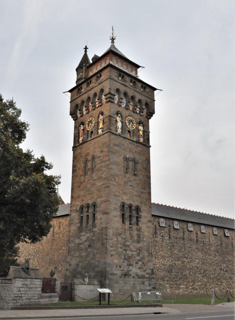 Zdjęcia: Cardiff, Stolica, Cardiff, zamek, WALIA