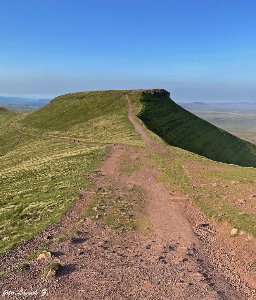 Zdjęcia: Walia., Brecon Beacons National Park., Peny Fan (886 m.) - najwyższy szczyt Walii., WALIA
