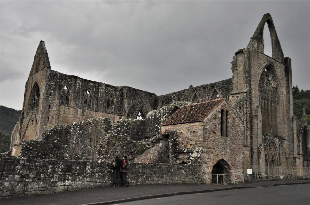 Zdjęcia: Tintern, Południowy wschód , Tintern Abbey, WALIA