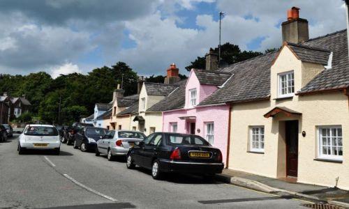 Zdjecie WALIA / - / Beaumaris / Walijskie miasteczko