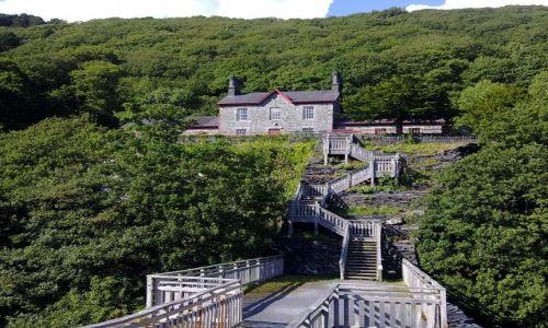 WALIA / - / Snowdonia National Park, wal. Parc Cenedlaethol Eryri / Stary, z IX wieku szpital przy kopalni miedzi