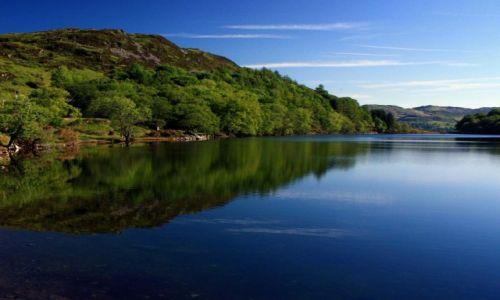 Zdjecie WALIA / Snowdonia N.P. / okolice Dolgellau / Jezioro Llyn Cynwch