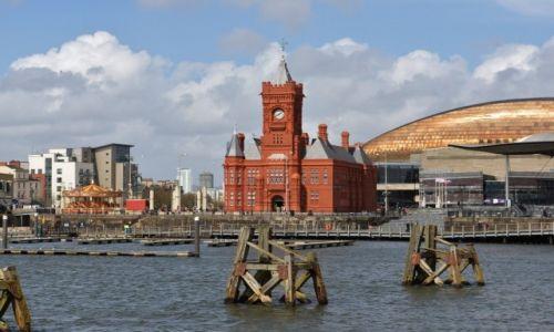 Zdjecie WALIA / Południowy zachód  / Cardiff / Cardiff, stolica Walii