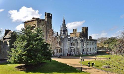 Zdjęcie WALIA / Południowa Walia / Cardiff / Cardiff, zamek