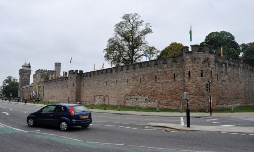 Zdjęcie WALIA / Walia południowa / Cardiff / Cardiff, zamek