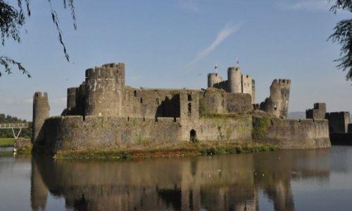 WALIA / Południe / Caerphilly / Caerphilly, zamek