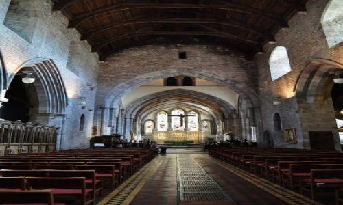 Zdjęcie WALIA / Południe / Brecon / Brecon, katedra