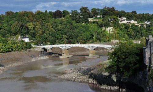 Zdjęcie WALIA / Południe / Chepstow / Chepstow, River Wye
