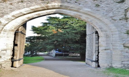 Zdjęcie WALIA / Południe / Chepstow / Chepstow, zamek