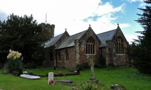 Zdjęcie WALIA / Południe / Caerleon / Caerleon, średniowieczny kościół