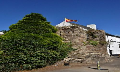 Zdjęcie WALIA / Południe / Caerleon / Caerleon, średniowieczna baszta