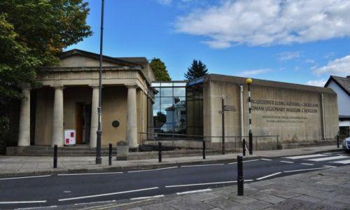 Zdjęcie WALIA / Południe / Wejście do muzeum / Caerleon, legiony rzymskie
