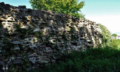 Zdjęcie WALIA / Południe / Caerleon / Caerleon, pozostałości obwarowań