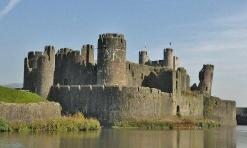 WALIA / Po�udnie / Caerphilly / Caerphilly, zamek