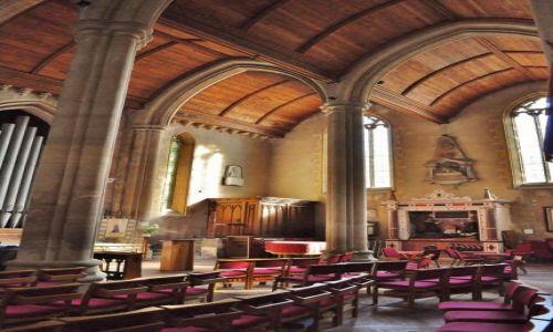 Zdjecie WALIA / Południe / Chepstow / Chepstow, St Mary's Priory Church