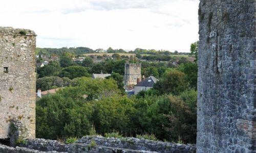 Zdjęcie WALIA / Południe / Chepstow / Chepstow, St Mary's Priory Church