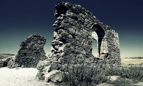 Zdjecie WALIA / Anglesey / Wyspa Llanddwyn Ynys / Ruiny kaplicy D