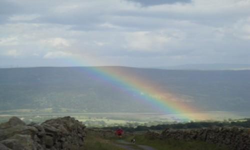 Zdjecie WALIA / Snowdonia / Snowdonia National Park-pólnocna część / Snowdonia-tęcza