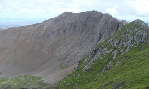 Zdjecie WALIA / Snowdonia / Crib Goch / Crib Goch-najtrudniejsza droga na Snowdon