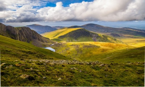 Zdjęcie WALIA / snowdonia / snowdonia national park / nibylandia istnieje