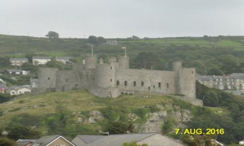 Zdjecie WALIA / hrabstwo Gwynedd / Harlech / Zamek w Harlech