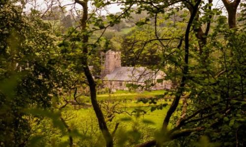 Zdjecie WALIA / brecon beacons / brecons beacons / Ukryty kościół