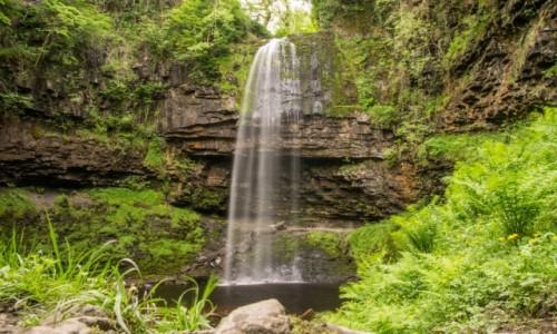 Zdjecie WALIA / brecon beacons / brecons beacons / woda i skała