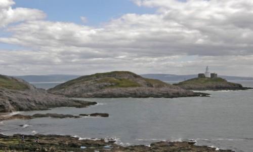 Zdjecie WALIA / Swansea. / Swansea - Półwysep Mumbles. / Mumbles - Latarnia Morska.