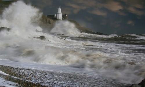 Zdjecie WALIA / Swansea. / Półwyse Mumbles. / Mumbles - Latarnia Morska.