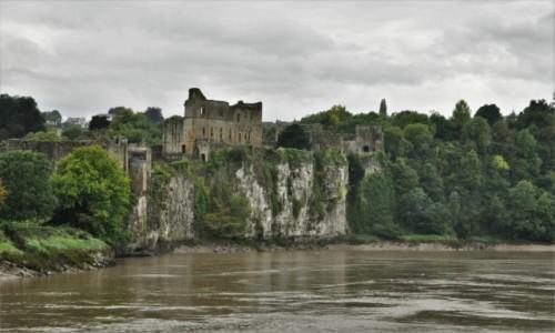 Zdjecie WALIA / Południowa Walia / Tintern / Chepstow, zamek