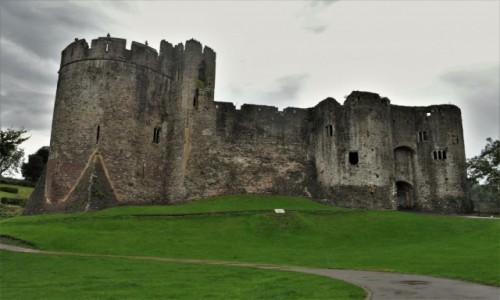 Zdjęcie WALIA / Południowa Walia / Cardiff / Chepstow, zamek