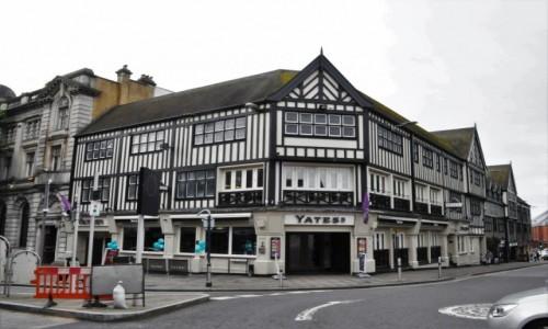 Zdjęcie WALIA / Południowa Walia / Swansea / Swansea, stara zabudowa