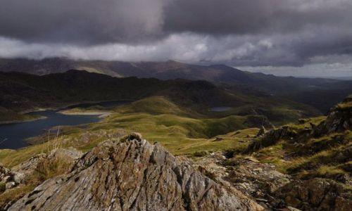 WALIA / brak / Park Narodowy Snowdonia / w chmurach