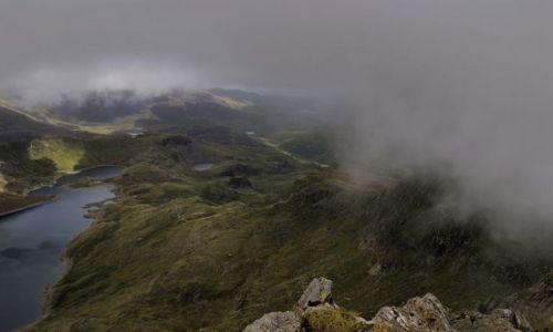 Zdjecie WALIA / brak / Park Narodowy Snowdonia / w chmurach