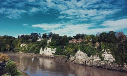 Zdjecie WALIA / Wye valley / Chepstow / Rzeka Wye