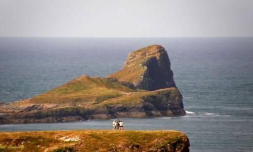 Zdjecie WALIA / Półwysep Gower. / Swansea. / Rhossili - Królowa Brytyjskich plaż.