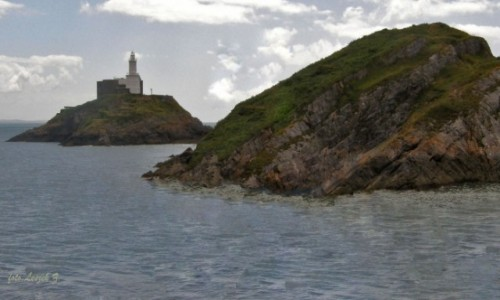 Zdjecie WALIA / Mumbles  / Swansea - Mambles bay / Mumbles - Latarnia Morska.