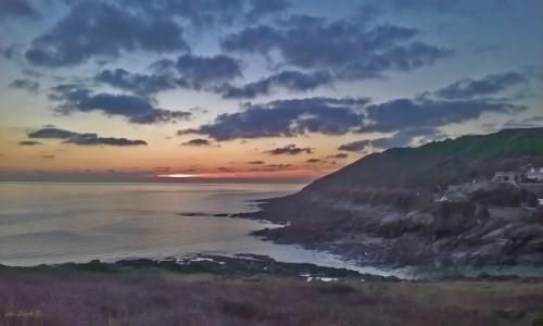Zdjecie WALIA / Walia. / Swansea. / Mumbles o zachodzie słońca.
