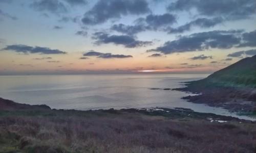 Zdjecie WALIA / Swansea. / Plaża Mumbles. / Mumbles - zachód słońca.
