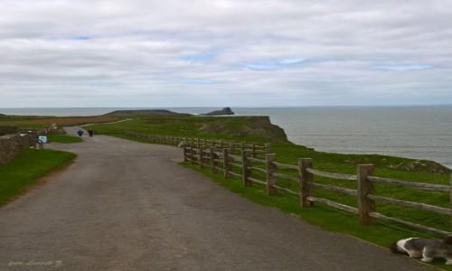 Zdjecie WALIA / Swansea. / Rhossili - Plaża / Rhossili Bay.