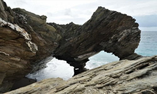 Zdjecie WALIA / Kornwalia  / Newguay / Formacje skalne
